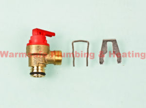 glow worm 0020014173 pressure relief valve ultracom 2