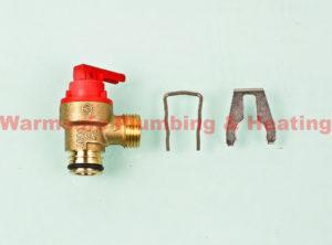 glow worm 0020014173 pressure relief valve ultracom 2