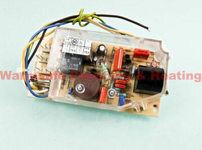 glowworm s900817 pcb (5-wires - 1 fuse) 1