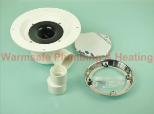 Hamer CHS/CH Horizontal ABS Shower Drain & Mirror Finish Cap