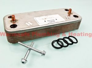 ideal 177529 plate heat exchanger kit 59200622 (ace onwards) 1