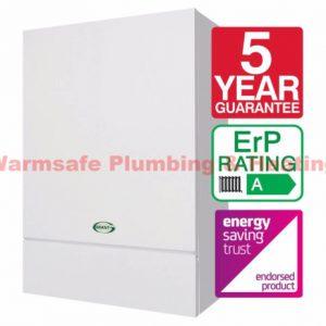 Grant Vortex Eco 12-16kW Wall Hung Open Vent Boiler Oil ErP &  EZ90B Flue KIT