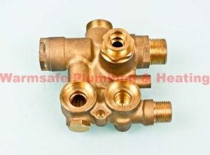 baxi 7224763 3 way valve assembly only