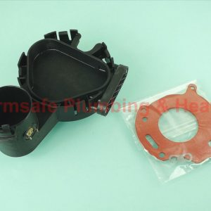 Worcester Bosch 87154069240 condensate sump assembly