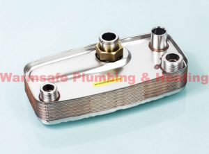 Ravenheat 0002SCA09015/0 domestic hot water heat exchanger