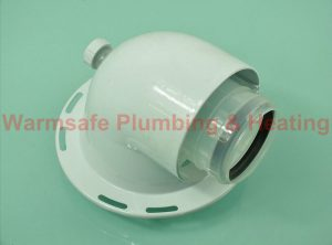 Glow-worm 0020020498 elbow (Genuine Part)