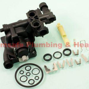 Saunier Duval 0020037988 block plastic pump