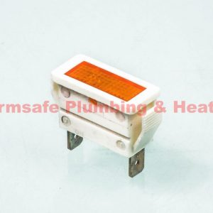 Ideal 003396 indicator lens Amber