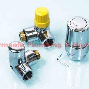 Danfoss 013G4003 Chrome Valve Set