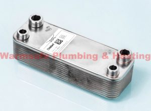 Vaillant 065053 domestic hot water heat exchanger No Kit