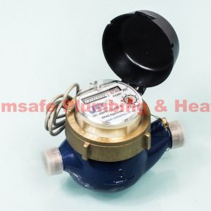 Jet pulsed BSP cold water meter 15mm 171253
