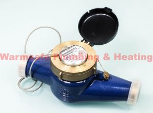 Jet pulsed BSP cold water meter 40mm 171257