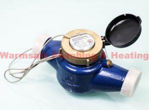 Jet pulsed BSP cold water meter 50mm 171258