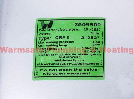 Ideal 177540 Expansion Vessel Kit