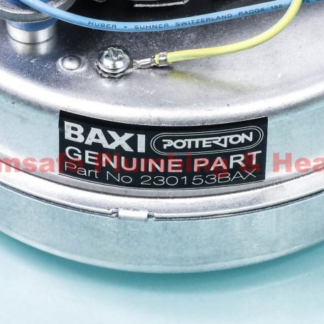 Baxi 229421 fan assembly