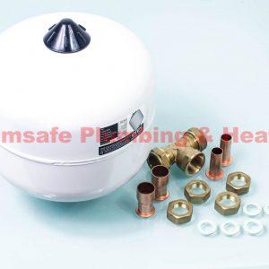 Alpha 3.019505 Flowsmart Expansion Vessel with fittings kit