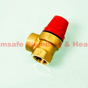 Altecnic 311430 female x female safety valve 3bar 1/2""