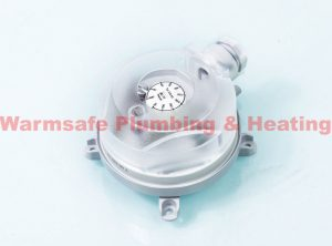 OH Products EDA33 air differential pressure switch 0.5-5.0mb (Center 323114)