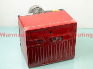 Riello R40 G20D 3748418 oil burner 118mm