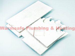 Ferroli 35321320 insulation - rear
