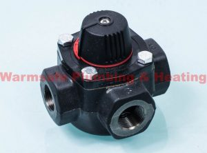 "Electro Controls 3AC20 3-port cast iron valve 3/4"" CV=13.0"