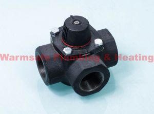 "Electro Controls 3AC32 3-port cast iron valve 1.1/4"" CV=24.0"
