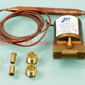 JET TFVJ-72-3/8-1.5M 72 deg x 1.5m Thermostatic Fire Valve
