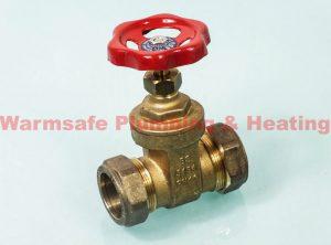 Pegler Yorkshire Kuterlite K416 gate valve 28mm Brass 61691