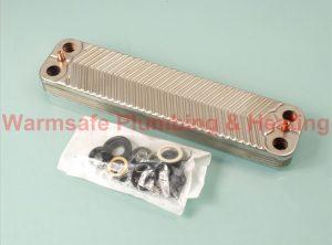 Worcester Bosch 87161066860 heat exchanger 10 plate