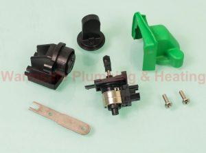 Worcester Bosch 87161068450 diverter valve assembly mixer module