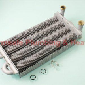 Worcester Bosch 87161428000 gas-water heat exchanger