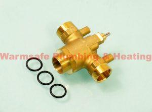 Worcester Bosch 87186822900 diverter valve body assembly