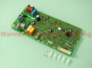worcester bosch 87483003360 heatronic printed circuit board