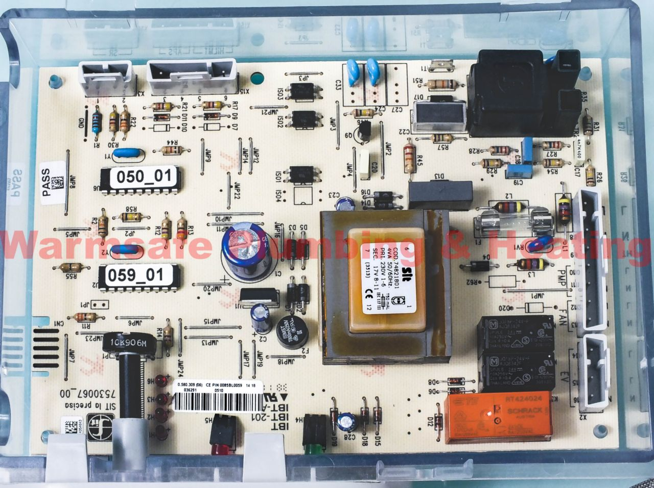 Halstead 988470 printed circuit board assembly