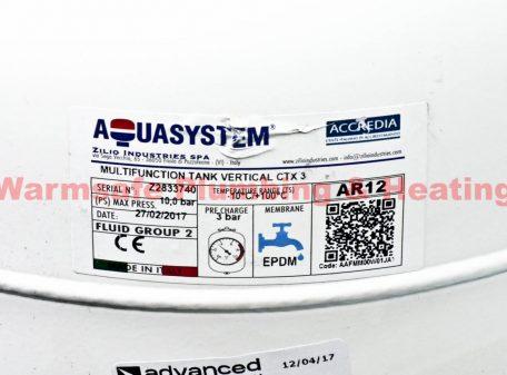 Aquasystem XVES 050 040 Expansion Vessel