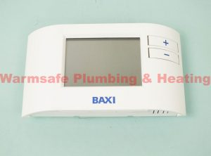 Baxi 7212438 EcoBlue Single Channel Wired Programmable Thermostat