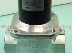 "Banico 365438 3"" gas solenoid valve automatic-reset 230v"