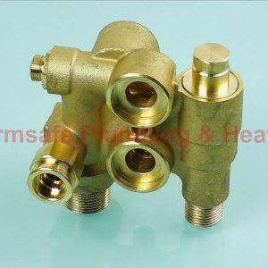 Baxi 5116017 hydraulic inlet assembly - 10L/min