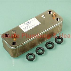 Baxi JJJ005689930 Heat Exchanger 797909 20 Plates
