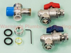 Pegler Yorkshire Bulldog C85173 TMV3/2 union angle valve 22mm