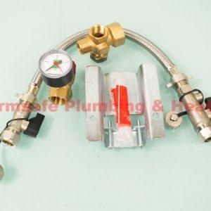 Center - 597789 veskit fittings Type-A 4-25ltr