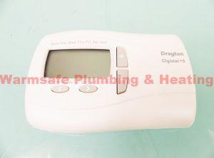 Drayton 22087 Digistat Plus 3 7day digital thermostat 240v