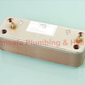 Baxi 248723 domestic hot water heat exchanger