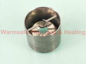 Worcester Bosch 87161566970 blast tube PL 6/7/21.5/10 x 80mm