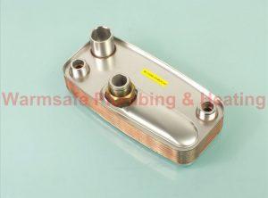 Alpha 1.031113 domestic hot water heat exchanger