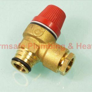 Vaillant 0020009865 pressure relief valve