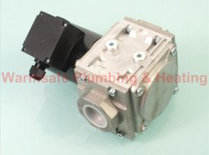 Black Teknigas 2007 2007 230V gas solenoid valve fast opening and flow 1.25inch 230v