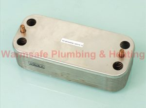 Ideal 175419 plate heat exchanger 35kw Only (Without O rings & screws )