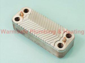Alpha 1.022221 16 plate DHW heat exchanger
