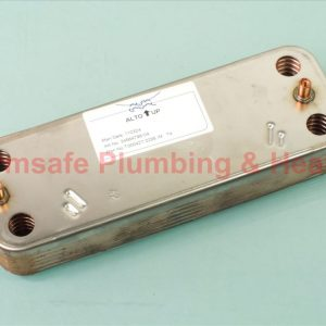 Biasi bi1001102 dhw heat exchanger